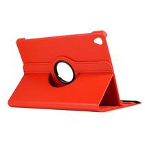 Huawei Mediapad M6 10.8 hoes - Draaibare Book Case - Rood