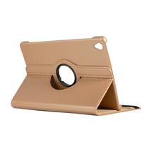 Huawei Mediapad M6 10.8 hoes - Draaibare Book Case - Goud
