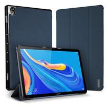 Huawei Mediapad M6 10.8 hoes - Dux Ducis Domo Book Case - Blauw
