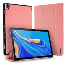 Huawei Mediapad M6 10.8 hoes - Dux Ducis Domo Book Case - Roze