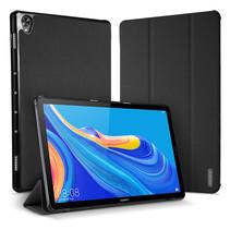Huawei Mediapad M6 10.8 hoes - Dux Ducis Domo Book Case - Zwart