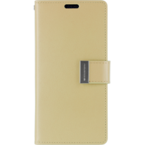 iPhone XS Max Wallet Case - Goospery Rich Diary - Goud