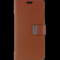 Samsung Galaxy S10 Wallet Case - Goospery Rich Diary - Bruin
