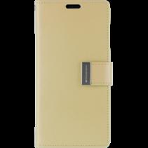 Samsung Galaxy S10 Plus Wallet Case - Goospery Rich Diary - Goud