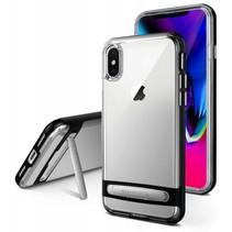 iPhone Xs Max bumper - Goospery Dream Stand Bumper Case - Zwart