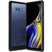 Samsung Galaxy A8 (2018) bumper - Goospery Hybrid TPU Cover - Zwart