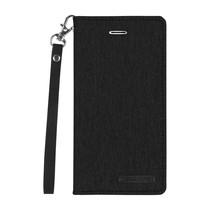 Samsung Galaxy A8 Plus (2018) hoes - Mercury Canvas Flip Wallet Case - Zwart