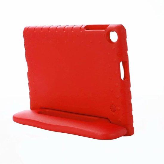 Case2go Samsung Galaxy Tab A 10.1 (2019) hoes - Schokbestendige case met handvat - Rood