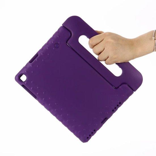 Case2go Samsung Galaxy Tab A 10.1 (2019) - Schokbestendige cover met handvat - Paars
