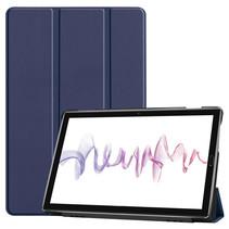 Huawei MediaPad M6 10.8 hoes - Tri-Fold Book Case - Donker Blauw