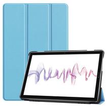Huawei MediaPad M6 10.8 hoes - Tri-Fold Book Case - Licht Blauw