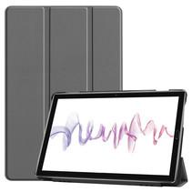 Huawei MediaPad M6 10.8 hoes - Tri-Fold Book Case - Grijs