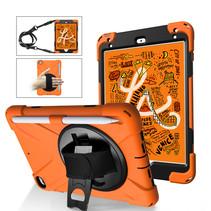iPad Mini 7.9 inch (2019) Cover - Hand Strap Armor Case - Oranje