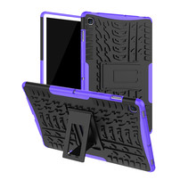 Samsung Galaxy Tab S5e hoes - Schokbestendige Back Cover - Paars