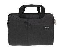 WiWu - 12 inch Laptoptas City Commuter Bag - Zwart