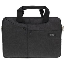 WIWU - 12 inch Laptoptas City Commuter Bag - Zwart