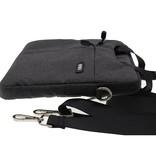 WIWU WiWu - 12 inch Laptoptas City Commuter Bag - Zwart