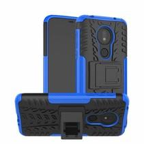 Motorola Moto G7 Power hoes - Schokbestendige Back Cover - Blauw