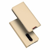 Xiaomi Redmi K20 Pro hoesje - Dux Ducis Skin Pro Book Case - Goud