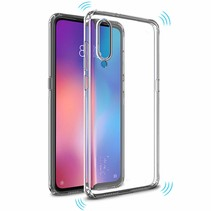 Xiaomi Mi 9 hoes - Anti-Shock TPU Back Cover - Transparant