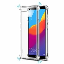 Huawei Y9 2019 hoes - Anti-Shock TPU Back Cover - Transparant