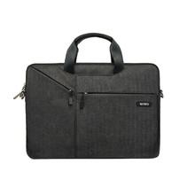 Laptoptas voor 15.4 inch laptop - WIWU City Commuter Bag - Zwart