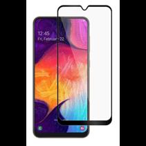 Samsung Galaxy A10 - Full Cover Screenprotector - Zwart