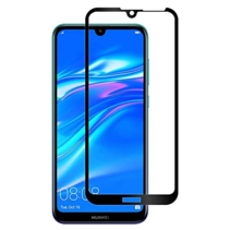 Huawei P Smart Z - Full Cover Screenprotector - Gehard Glas - Zwart