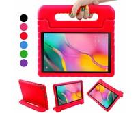Samsung Galaxy Tab A 10.1 (2019) hoes - Schokbestendige case met handvat - Rood