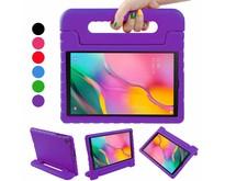 Samsung Galaxy Tab A 10.1 (2019) - Schokbestendige cover met handvat - Paars