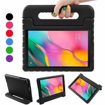 Samsung Galaxy Tab A 10.1 (2019) hoes - Schokbestendige case met handvat - Zwart