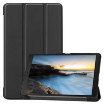 Samsung Galaxy Tab A8 (2019) hoes - Tri-Fold Book Case - Zwart