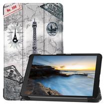 Samsung Galaxy Tab A8 (2019) hoes - Tri-Fold Book Case - Eiffeltoren