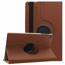 Samsung Galaxy Tab A 10.1 (2019) hoes - Draaibare Book Case - Bruin