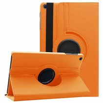 Samsung Galaxy Tab A 10.1 (2019) hoes - Draaibare Book Case - Oranje
