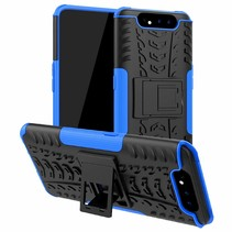 Samsung Galaxy A80 hoes - Schokbestendige Back Cover - Blauw