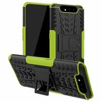 Samsung Galaxy A80 hoes - Schokbestendige Back Cover - Groen