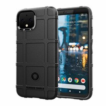 Google Pixel 4 XL hoes - Heavy Armor TPU Bumper - Zwart