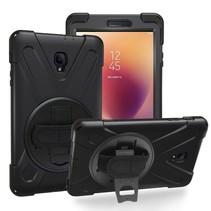 Samsung Galaxy Tab A 8.0 (2017) Cover - Hand Strap Armor Case - Zwart