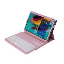 Samsung Galaxy Tab S5e Case - Bluetooth toetsenbord hoes - QWERTY layout - Magneetsluiting - Sleep/Wake-up functie - Roze