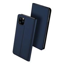 iPhone 11 Pro Max hoesje - Dux Ducis Skin Pro Book Case - Blauw
