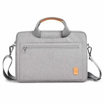 Laptoptas voor 15.4 inch laptop - WIWU Pioneer Shoulder - Grijs