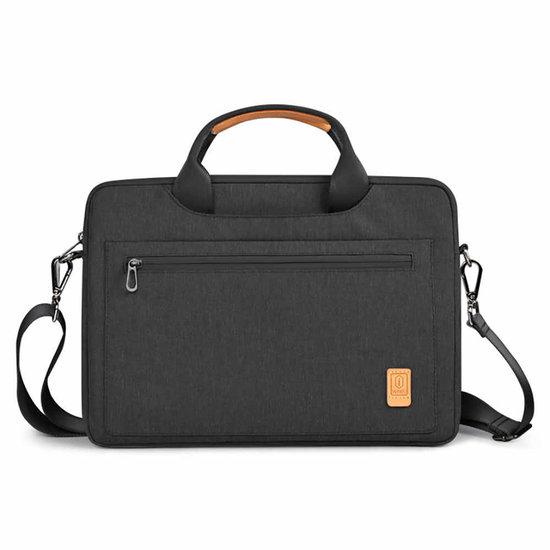 WIWU Laptoptas voor 15.4 inch laptop - WIWU Pioneer Shoulder - Zwart