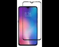 Xiaomi Mi 9 - Full Cover Screenprotector - Zwart