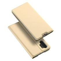 Samsung Galaxy Note 10 Plus hoesje - Dux Ducis Skin Pro Book Case - Goud