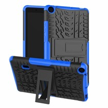 Huawei Mediapad T3 7 hoes - Schokbestendige Back Cover - Blauw