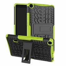 Huawei Mediapad T3 7 hoes - Schokbestendige Back Cover - Groen