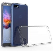 Huawei Y5 (2019) hoes - Anti-Shock TPU Back Cover - Transparant