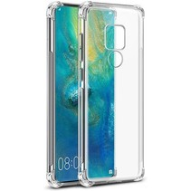 OnePlus 7 hoes - Anti-Shock TPU Back Cover - Transparant