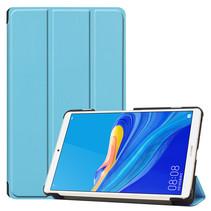 Huawei MediaPad M6 8.4 hoes - Tri-Fold Book Case - Licht Blauw